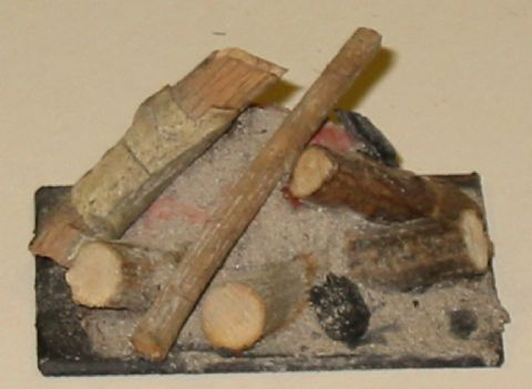 Log & Peat Fires - Medium